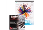 SoHo Colored Pencil and Stonehenge Paper Pad Value Set -