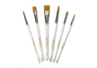 Gold-N-Flo Taklon Brush Set -