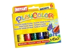 PlayColor Solid Poster Paint Crayons - Basic Colors
