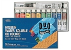 Holbein Duo Aqua Water-Soluble Oil Color -
