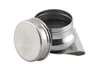 Stainless Steel Single Palette Cup with Screw Cap -