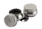 Stainless Steel Double Palette Cup with Screw Cap -