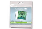 Crescent Artist Trading Cards - White