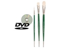 Pro Swipe Powercryl Brush Set with DVD -