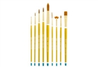 Qualita Golden Taklon Brush -