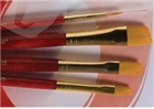 Princeton Real Value Brush Set 9123 - Golden Taklon Bristles