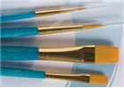 Princeton Real Value Brush Set 9171 - Golden Taklon Bristles