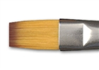Richeson Orange Synthetic Brush -