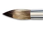 Vermeer Classic Mongoose Watercolor Short Handle Hair Brush -