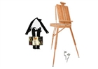 Dali Bamboo French Easel -