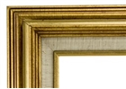 Accent Wood Frame - Gold Wash