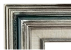 Accent Wood Frame - Silver Green