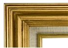 Accent Wood Frame - Antique Gold