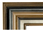 Accent Wood Frame - Triple Brown