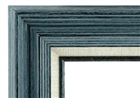 Accent Wood Frame - Blue Grey