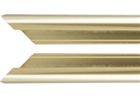 Basic Metal Sectional Frame Pair of - Shiny Gold