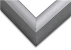 Sectional Aluminum Frame - Shiny Contrast Grey
