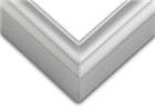 Sectional Aluminum Frame - Frosted Silver