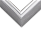 Sectional Aluminum Frame - Shiny Silver