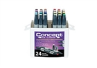 Concept Dual Tip Art Markers Set of 24 - Basic Colors