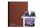 Concept Marker Color BONUS Set with Union Square Heavyweight Drawing Pad 11x14
