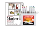 Concept Marker Color BONUS Set with Strathmore 500 Series Marker Pad 11x14
