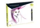 Prismacolor Double-Ended Brush Tip Markers - Primary/Secondary Colors