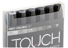 ShinHan TOUCH TWIN Art Markers - Grey Tones