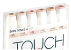 ShinHan TOUCH TWIN Art Markers - Skin Tones