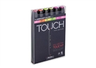 ShinHan TOUCH TWIN Art Markers - Fluorescent Colors