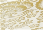 Mountain Peak Handmade Lokta Paper - Gold / Natural Paisley