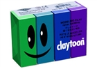 Claytoon Modeling Clay for Kids - Cool Colors