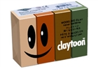 Claytoon Modeling Clay for Kids - Earth Colors