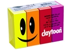 Claytoon Modeling Clay for Kids - Hot Colors