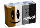 Claytoon Modeling Clay for Kids - Neutral Colors