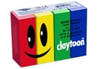 Claytoon Modeling Clay for Kids - Primary Colors