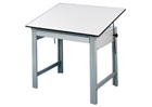 ALVIN Drafting Table - Gray Base (No Drawer)