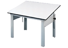 ALVIN Drafting Table - Gray Base / No Drawer / Office Height (28
