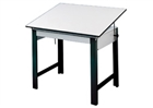 ALVIN Drafting Table - Black Base (No Drawer)