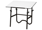 ALVIN Drafting Table - Black Base