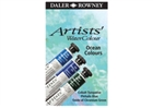 Daler-Rowney Artists' Water Colour - Ocean Colors