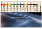 Turner Concentrated Artists' Watercolors- Professional Set - Assorted Colors