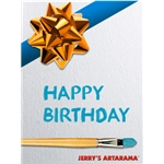 Birthday Art eGift Card - Festive - Electronic Gift Card