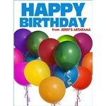 Birthday Art e-Gift Card - Balloons