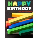 Birthday Art e-Gift Card - Chalk