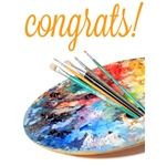Congratulations Art eGift Card - Palette