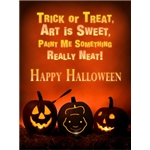 Halloween Art eGift Card - Jack O' Lanterns - electronic gift card