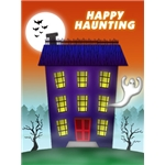 Halloween Art eGift Card - Haunted House - electronic gift card