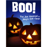 Halloween Art eGift Card - Boo - electronic gift card