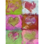 Valentine's Day Art eGift Card - Abstract Hearts 2 - electronic gift card